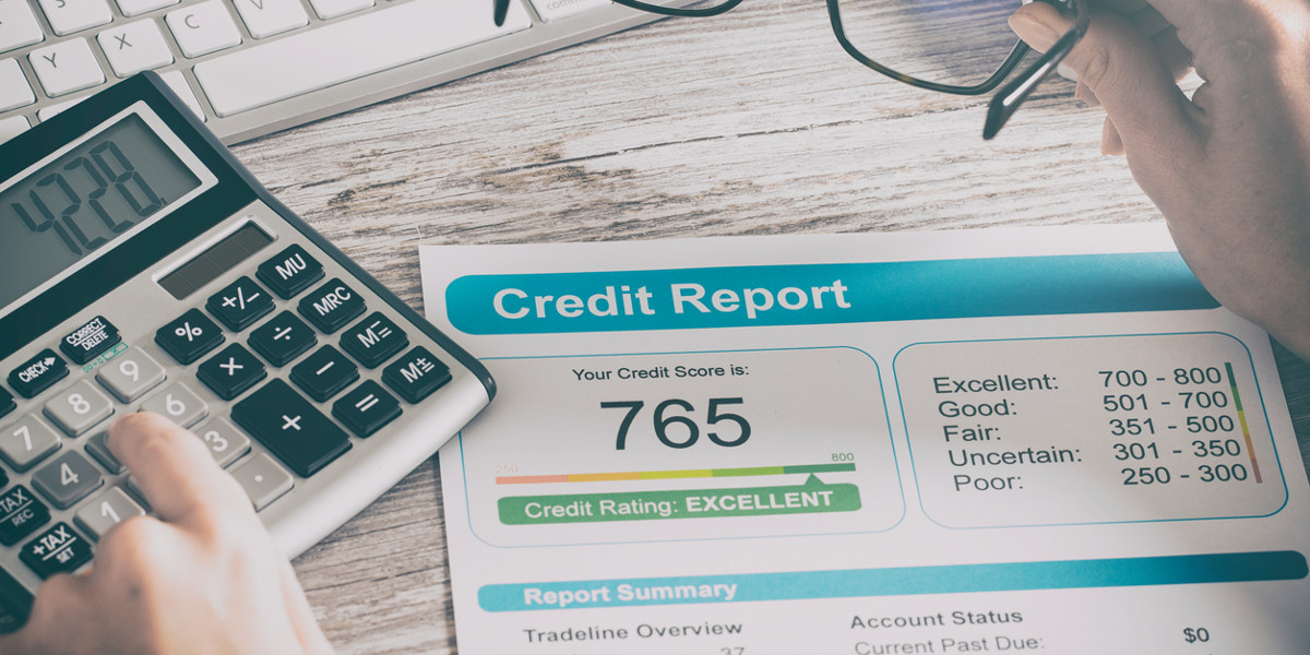 The minimum credit score needed to get a personal loan.
